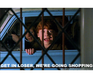 weasley, harry potter funny, and b. maria image
