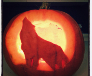 Halloween, carving, and pumpkin image
