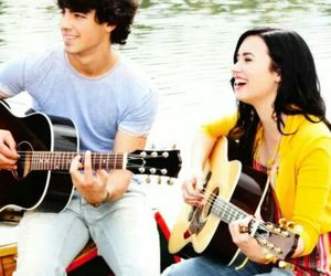 demi lovato, Joe Jonas, and smile image