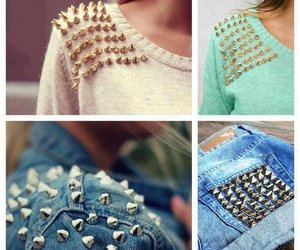 style, studs, and spikes image