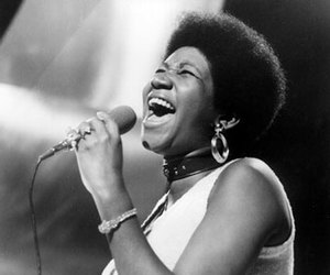 aretha, black and white, and diva image