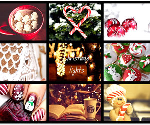 christmas, Collage, and winter image
