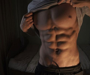 abs, workout, and Hot image