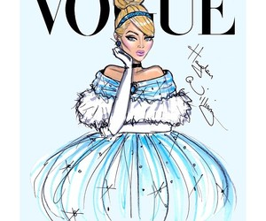 vogue, cinderella, and princess image