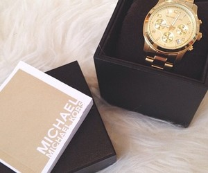gold, fashion, and watch image