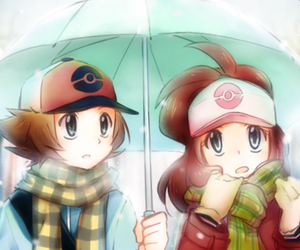 pokemon, touya, and touko image