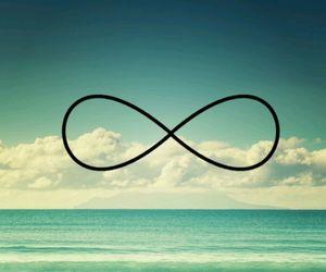infinity, beach, and ocean image