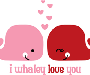 love, whale, and cute image