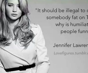 Jennifer Lawrence, quote, and people image