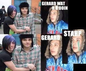 band, frank iero, and gerard way image
