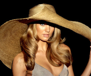 hat and model image