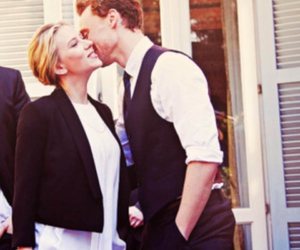 tom hiddleston, Scarlett Johansson, and the avengers image