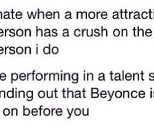 beyoncé, crush, and quote image