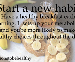 breakfast, healthy, and fit image