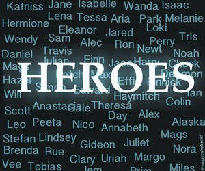 heroes, harry potter, and hunger games image