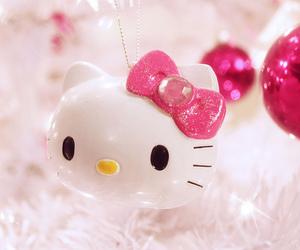 hello kitty, pink, and kawaii image