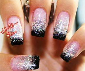 pink!, glitter!, and nails! image