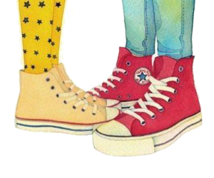 converse, shoes, and couple image