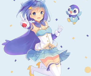 pokemon, anime, and Piplup image