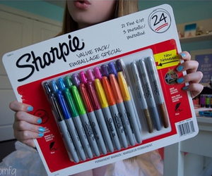 colorful, sharpies, and tumblr image