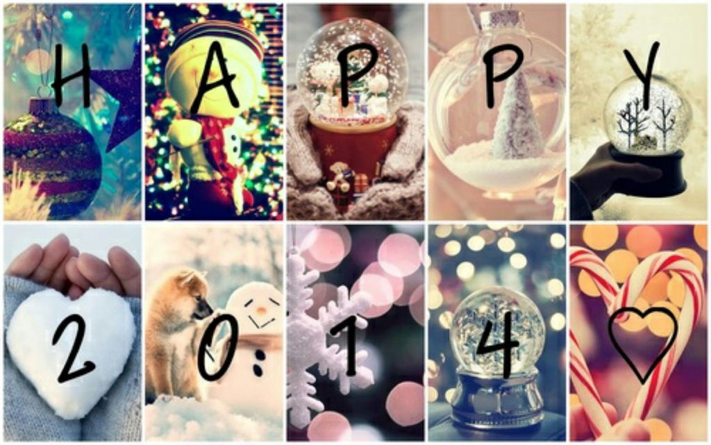 2014, new year, and christmas image