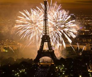 fireworks, paris, and beautiful image