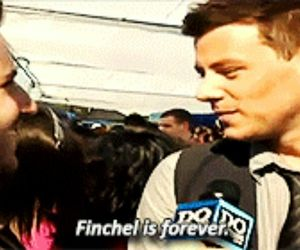 forever, glee, and lea michele image