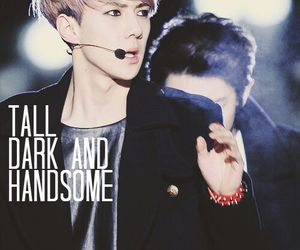 dark, exo, and handsome image