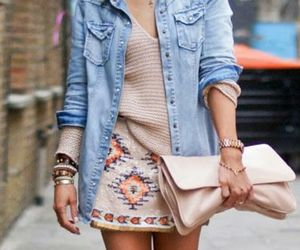 aztec, fashion, and outfit image