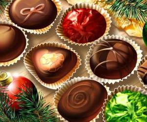 christmas, delicious, and wallpaper image