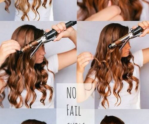 beauty, hair tutorials, and curls image