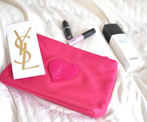 YSL, pink, and Yves Saint Laurent image