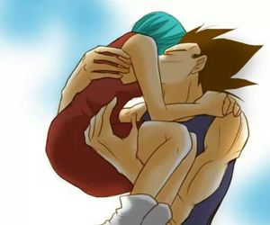 bulma, dbz, and love image