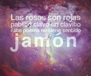 poema, jamon, and roses image