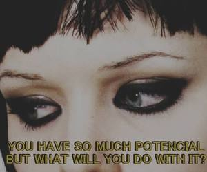 Crystal Castles, Alice Glass, and eyes image