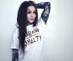 tattoo, monami frost, and piercing image