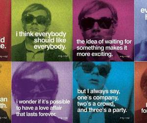 andy warhol, quote, and art image