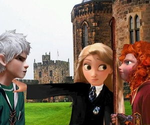 harry potter, jack frost, and merida image
