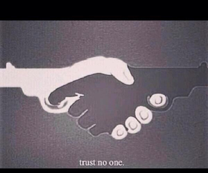trust, gun, and one image