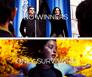 catching fire, the hunger games, and thg image