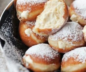 cream, delicious, and sugar image