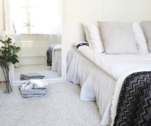bedroom, decor, and house image