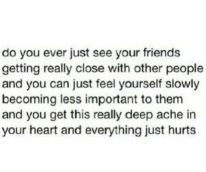friends, sad, and hurt image