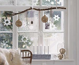 christmas, decor, and white image