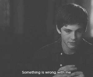 logan lerman, wrong, and sad image
