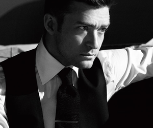 justin timberlake, jt, and black and white image