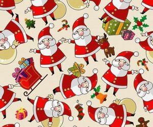 christmas, new year, and supernatural image