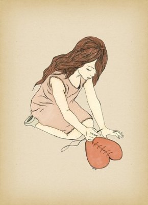 broken heart, drawing, and fix image