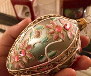 beautiful, faberge egg, and ornament image