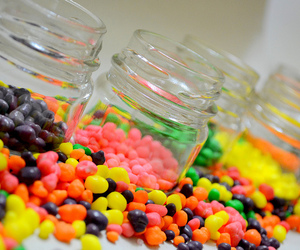 candy, food, and nerds image
